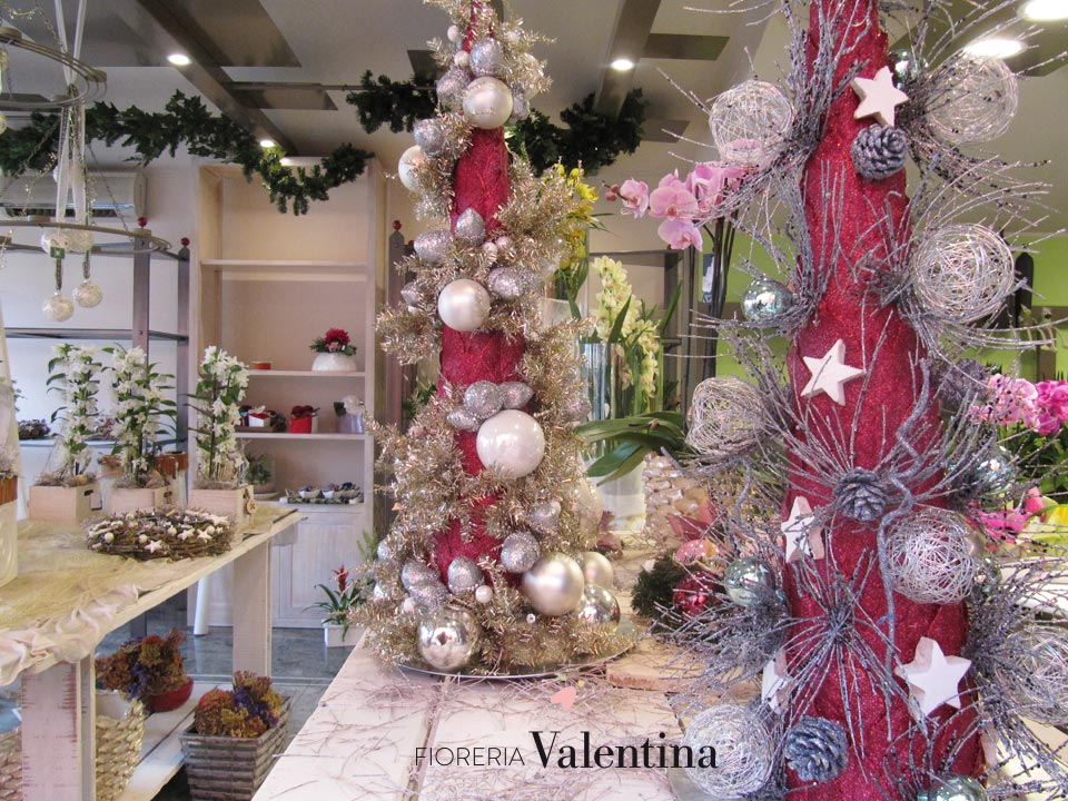 Categories inverno for Vetrine natale fioristi